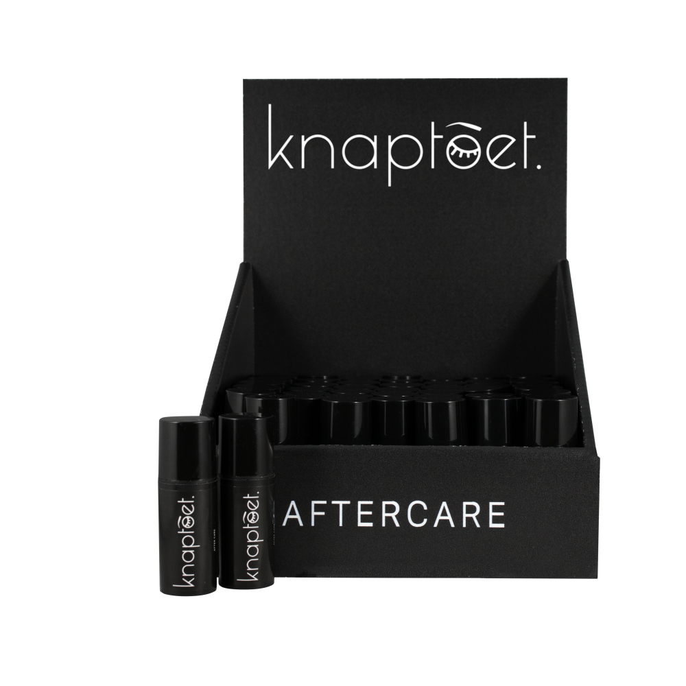 Knaptoet productfoto display